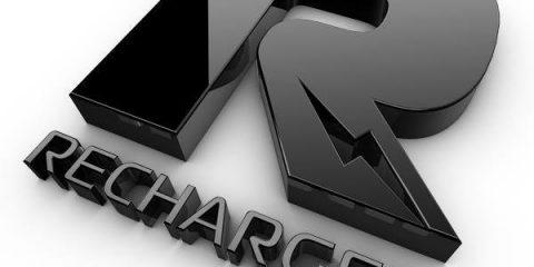 recharged logo