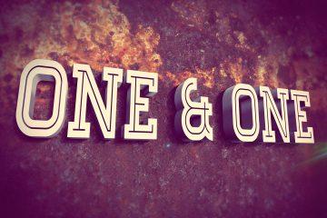 one & one full