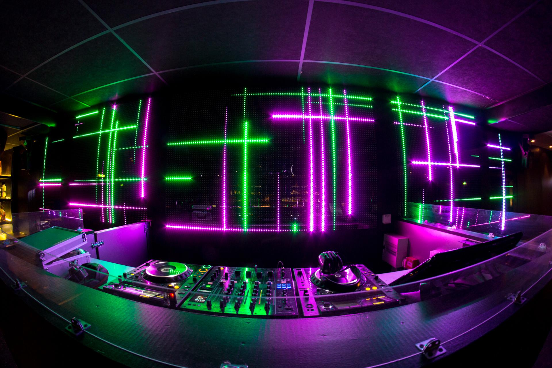 nightclub allover printed dj - HD1920×1280