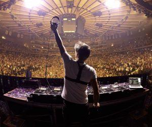 Armin van Buuren preforms at Madiosn Square Garden on March 30, 2013