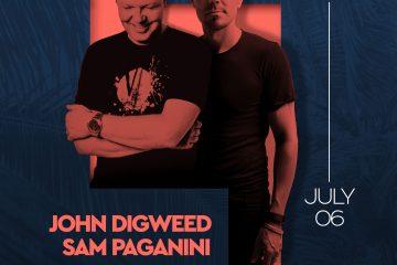 John Digweed - Sam Paganini Poster