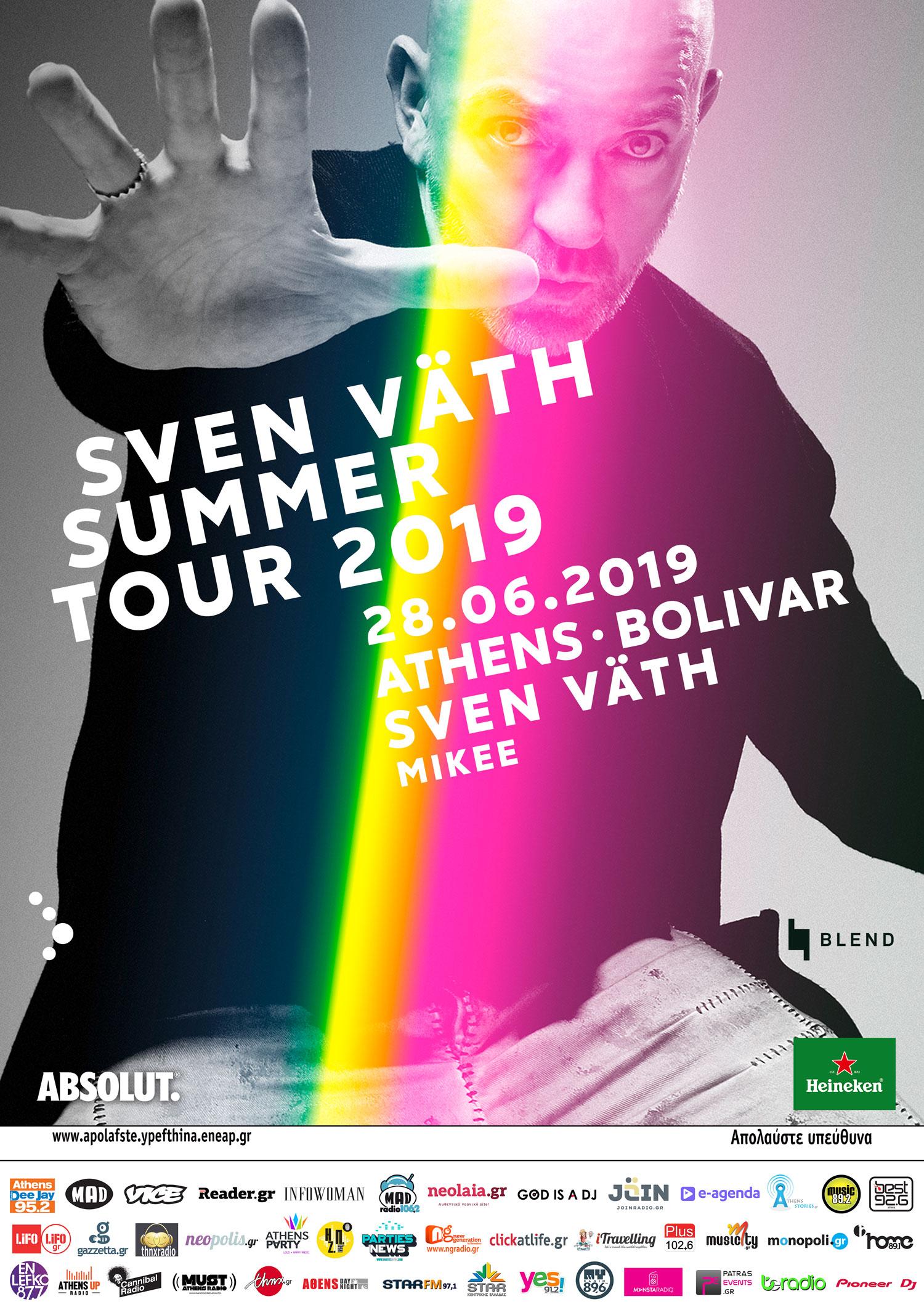 Sven Vath Poster