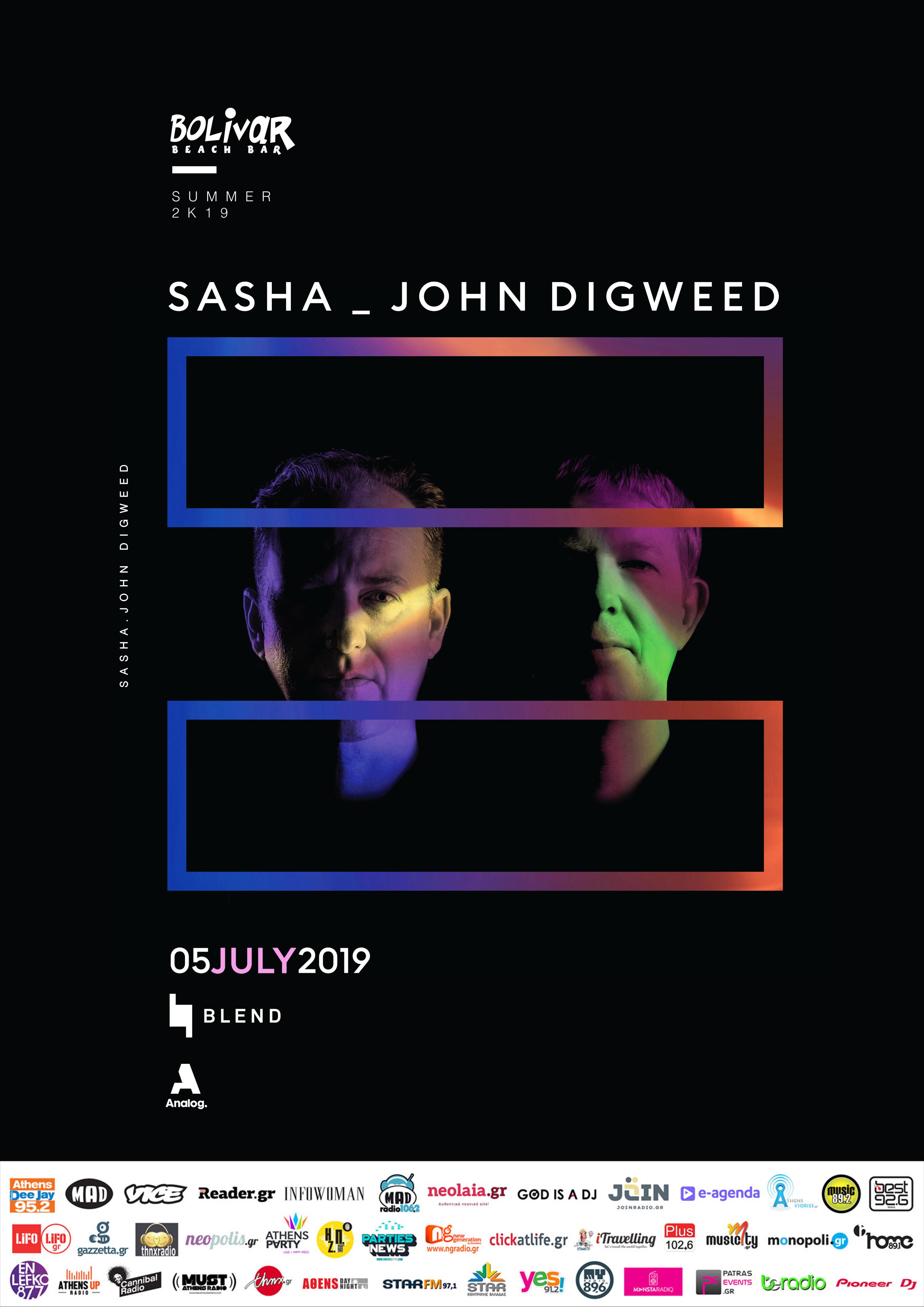 Sasha - Digweed Poster