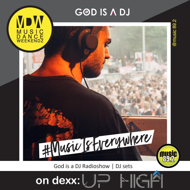 GOD IS A DJ - UP HIGH SLOT
