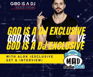 ALOK @ GOD IS A DJ COVER