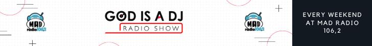 banner god at mad radio 106,2