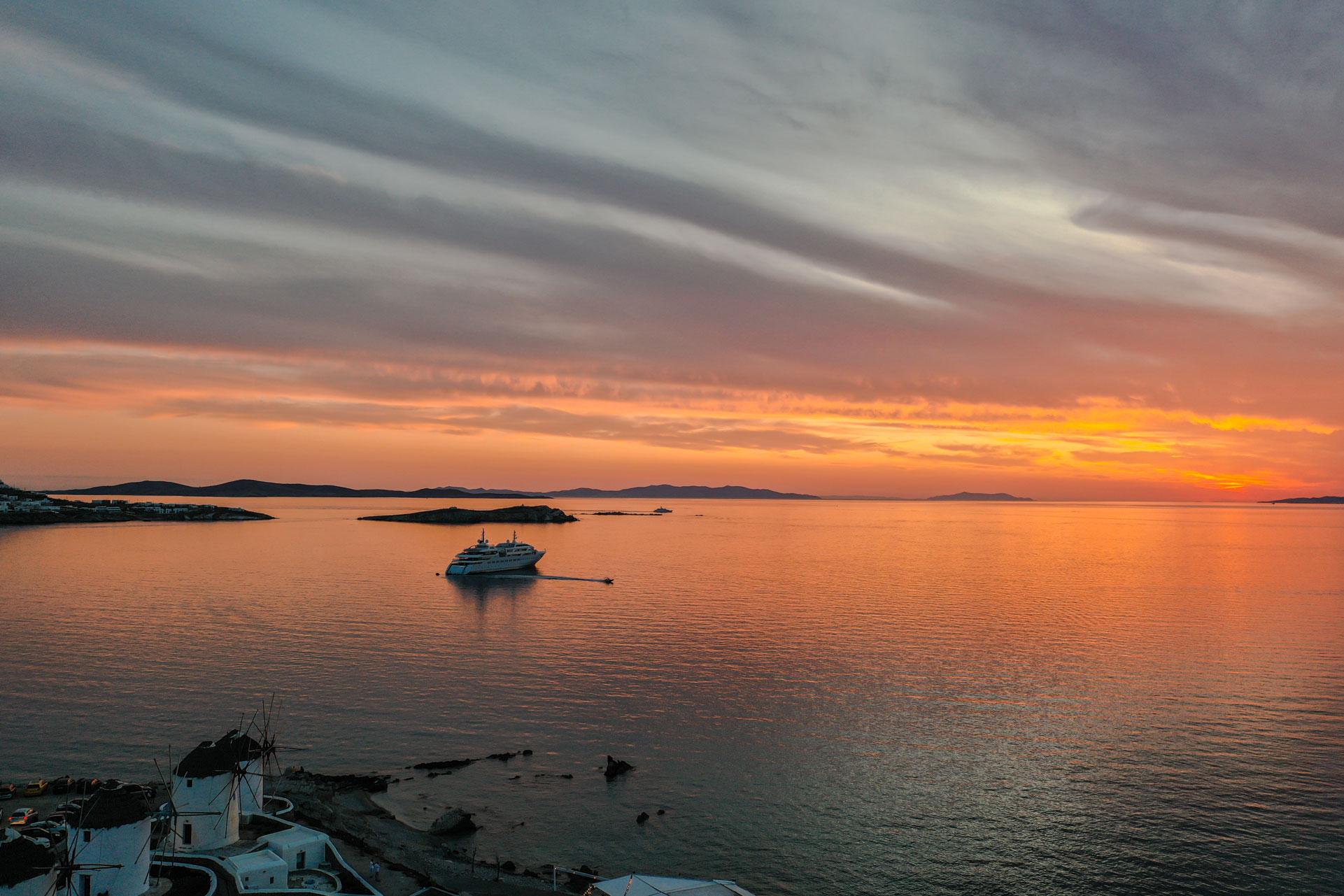 © mykonos sunset by John Moscovakis